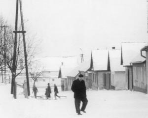 Jadranská v zime