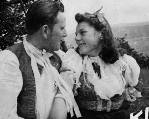Katka Jakubčíková s manželom