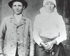 Michal Granec a manželka Petruša