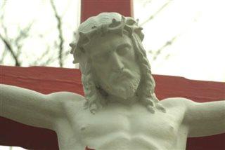 Červená kríž detail