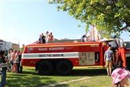 Zábavné popoludnie s hasičmi