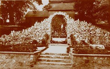 Jaskyňa Panny Márie - stará fotka