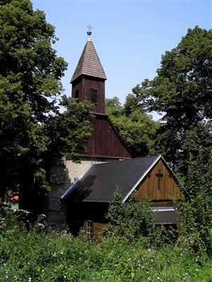 Kaplnka Panny Márie pohľad z diaľky