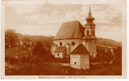 Kostol sv. Kozmu a Damiána - stará fotografia
