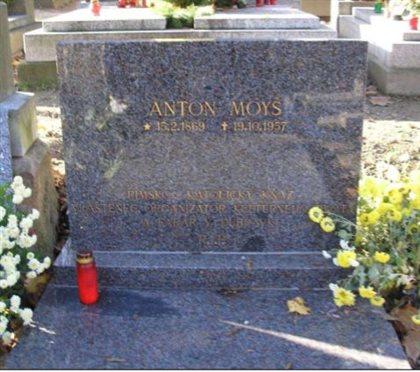 Náhrobok Antona Moyša