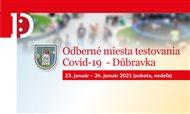 Odberné miesta Dúbravka 23. – 24. januára