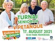 Seniorov čaká štvrtý ročník turnaja v petangu