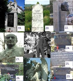 Pamätníky, pomníky