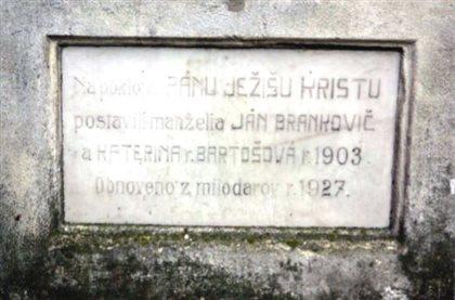 pomník Lurdskej panny Márie - detail