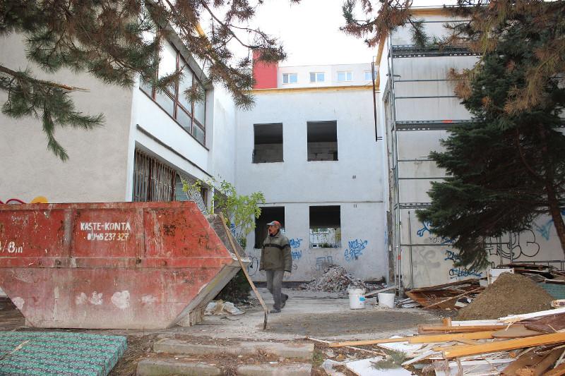 pohľad 1 - stav pred rekonštrukciou